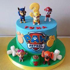 "Betül Arslan on Instagram: ""Paw patrol pastası 🐶 #pawpatrol #cake #pawpatrolcake #pasta #butikpasta #pawpatrolpasta #pawpatrolpastasi #3yas #3yasdogumgunu…"" Paw Patrol Birthday Cake, 4th Birthday Cakes, Paw Patrol Party, Birthday Cake Kids Boys, Bolo Do Paw Patrol, Torta Paw Patrol, Ryder Paw Patrol, Snowflake Wedding Cake, Vintage Cake Toppers"