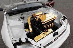 Honda EK Civic, gold plated Bee...ill