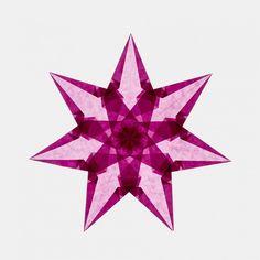 Faszinierende Fenstersterne zum Selbermachen, Bastelset mit Farbset 2 | Echtkind Christmas Star, Christmas Crafts, Xmas, Fun Crafts, Paper Crafts, Paper Stars, Paper Folding, Origami, To My Daughter