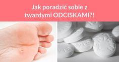 Jeżeli dokuczają Ci odciski na stopach lub na dłoniach to koniecznie wypróbuj kuracji z użyciem aspiryny! Weź 5 tabletek aspiryny i dokładnie je rozkrusz. Następnie wymieszaj je z sokiem z ...