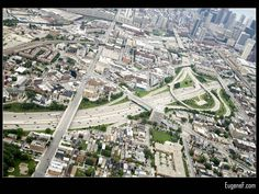 Chicago Expressway #Aerials #freewallpapers