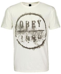 OBEY Wine T-Shity $28.00