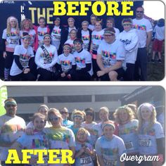 Color Run - Kaleidoscope Tour 2014 Springfield, MO Tours, Baseball Cards, Running, Fitness, Sports, Color, Hs Sports, Keep Running, Colour