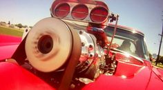 Supercharged 454 Big-Block 1966 Corvette Pro Street!
