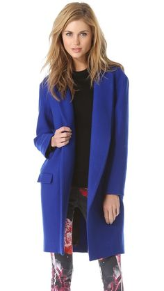 Nicholas Felted Wool Coat LOVE the colour, the cut wouldn't suit me unfortunately