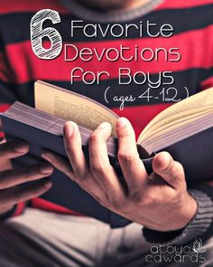 Are your boys ready for their own quiet time? My boys are transitioning to their own bible time each day. Come see what devotions this single mom picked out for her sons to help them grow in their faith.