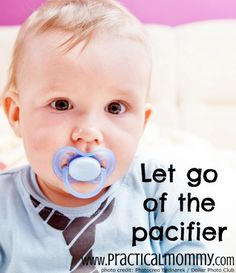 Tips and Advice from real moms on how to let go of the pacifier
