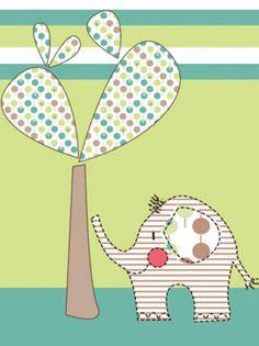 Elefante a rayas