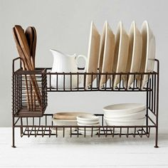 2 Tier Wire Dish Rack