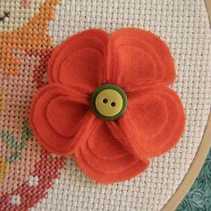Flor feltro