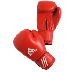 adidas AIBA 10oz Boxing Gloves - Red