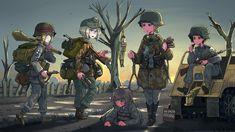 Manga Art, Anime Manga, Anime Art, Anime Military, Military Girl, Guerra Anime, Character Art, Character Design, Military Drawings