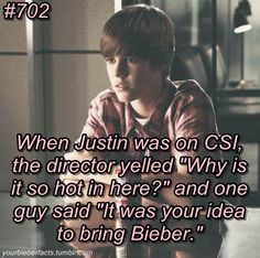 That's what happens when Bieber is involved. ;)