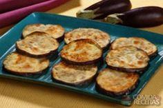 Receita de Berinjela rápida em rodelas em receitas de legumes e verduras, veja essa e outras receitas aqui!
