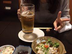 やっぱ生ビール最高!!酢がきも来たしお次は日本酒かな♪【ゆきまんま】