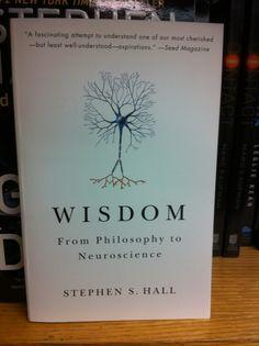 """wisdom: from philosophy to neuroscience"""