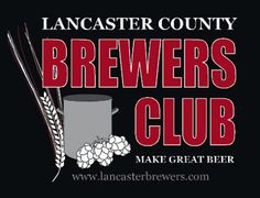 Sticker design by Jeremiah Eastep for Lancaster County Brewers Club