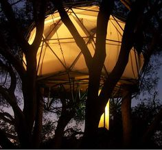 The O2 Sustainability Treehouse is a Recycled Retreat #treehouses trendhunter.com