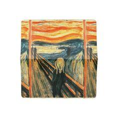 The Scream by Edvard Munch Checkbook Cover