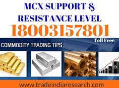 Best Share Market Blogs | Best Stock Market Blogs | Best Share Market News: Mcx Support & Resistance Level Morning Bell With M...