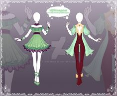 [Open] Adoptable Outfit Auction 122-123 by LifStrange.deviantart.com on @DeviantArt