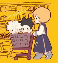 Killua, Gon, and Kurapika Thats adorable ^_^        ~Hunter X Hunter