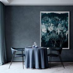 10 of the most popular dark interiors from Dezeen's Pinterest boards