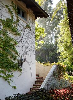 Spanish-style home of Director John Pasquin and actress JoBeth Williams; built by architect Gerard R. Colcord in 1928