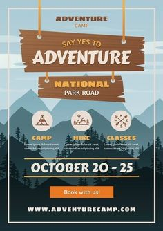 Download this Free Vector about Gradient adventure flyer, and discover more than 17 Million Professional Graphic Resources on Freepik. #freepik #vector #travel #flyer #travelflyer