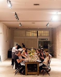 #tbt to when we hosted our first Back to the Table dinner, a pop up designed to rediscover the significance of sharing a meal together. #SaltblockCatering #FamilyStyle #TampaBayEats #Localeats