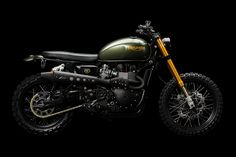 The Triumph Scrambler is not going to set any land speed records, but it's not supposed to. And when one gets modified like this one has, masterfully by Er