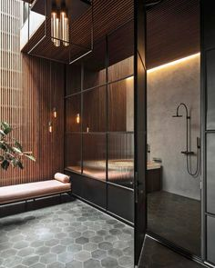 60 awesome open bathroom concept for master bedrooms decor ideas Open Bathroom, Modern Master Bathroom, Bathroom Interior, Diy Interior, Bad Inspiration, Bathroom Inspiration, Interior Inspiration, Scandinavian Home, Bathroom Renovations