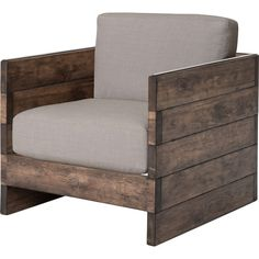 Could Probably build this chair for a FRACTION of Wayfair's price!!! Found it at Wayfair - Benjamin Arm Chair