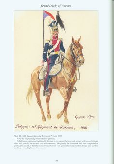 Grand Duchy of Warsaw: Plate 19. 12th (Lancer) Cavalry Regiment, Private, 1812.