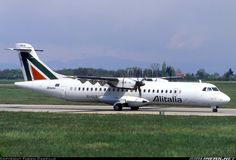 Alitalia Express, ATR 72-212, Lyon - Saint-Exupery (Satolas) (LYS / LFLL) France, April 18, 1999 by Fabien Campillo
