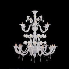 Calliope | Murano Glass Chandelier Made In Venice, Italy