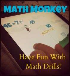 Make Math Drills Fun with Math Monkey App!