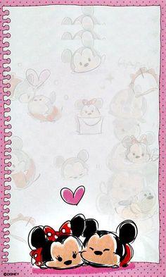 Mickey and minnie cute wallpaper disney mickey, disney love, disney tsum tsum, mickey Tsum Tsum Wallpaper, Mickey Mouse Wallpaper, Cute Disney Wallpaper, Mickey Minnie Mouse, Disney Mickey, Disney Art, Disney Love, Disney Magic, Disney Background