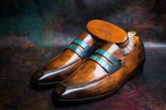 http://chicerman.com dandyshoecare: 50 Anniversary Berluti by Alexander Nurulaeff - Dandy Shoe Care. There is only 1 pair of this shoes in the world. You have a rare chance to buy these shoes for a really low cost! For more information please contact: tailoredshoes@gmail.com #menshoes