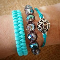 Check out this item in my Etsy shop https://www.etsy.com/listing/231404444/set-of-3-bracelets