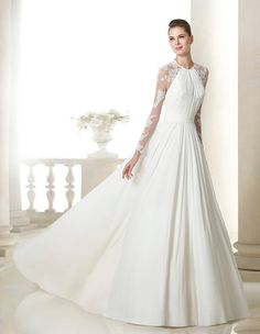St. Patrick wedding dress. Bridal collection 2015. San Patrick