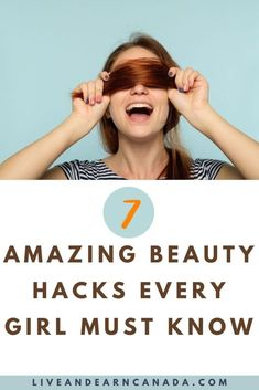 Beauty hacks for girls to know in order to get ready for work quickly. Here are a few Makeup hacks every woman should know to quickly get ready! Every Girl, Every Woman, Simple Makeup Tips, Sleep Early, Falsies, Girl Tips, Makeup Hacks, Long Lashes, Get Ready