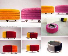 Reciclaje de neumáticos de coche