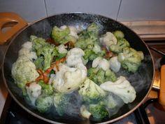 Mangio sano........mangio Vegano! (e mi diverto): Mix di broccoli e cavoli!