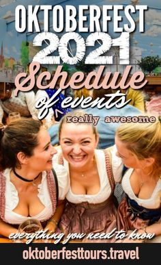 Oktoberfest 2021 Schedule of (Really Awesome) Events – Kelly Tuinstra Oktoberfest 2021 Schedule of (Really Awesome) Events Oktoberfest 2021 Schedule of Events in Munich, Germany Guide – what you need to know Oktoberfest Food, Oktoberfest Outfit, Beer Health Benefits, Festivals Around The World, German Beer, Beer Festival, Worlds Of Fun, Being A Landlord, Foodie Travel