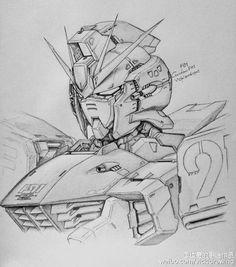 GUNDAM GUY: Awesome Gundam Sketches by VickiDrawing [Updated 4/23/16]