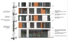 Жилой район «Северный». Фрагмент фасада. Корпус 8 © ДНК аг