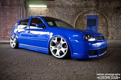 Golf Mk4 — this blue WORKS!