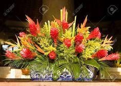 arreglos florales exoticos sencillos - Google Search