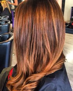 Gorgeous rich Autumn tones and super cute blow dry by Shannon . For bookings please call 01-2180872
